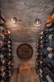 wine box craft ideas wine cellar contemporary with stone wall wall art sloped ceilings box version modern wine cellar