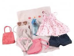 <b>Gotz Набор</b> летней <b>одежды</b> и аксессуаров (10 вещей ...