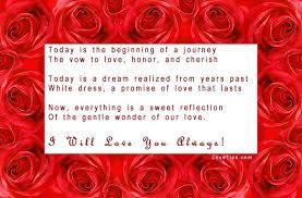 Wedding: Rose Wedding Poems And Quotes