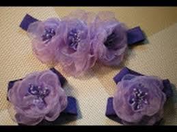 Цветок-<b>повязка для волос</b> и украшение на ножки для малышки ...