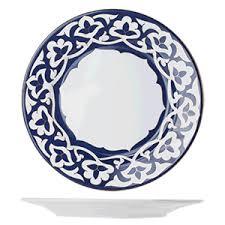 <b>Тарелка мелкая</b> «Восток Голд»; фарфор; D=270,H=25мм; синий ...