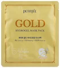 Petitfee <b>Гидрогелевая маска для</b> лица с золотом — купить по ...