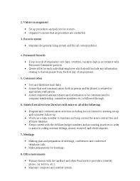 job responsibilities office manager   zibsi red hot resumeoffice manager job description hashdoc