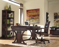 signature design by ashley devrik home office desk with drop down keyboard tray olindes furniture table desk ashley furniture home office desk