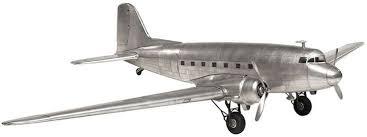 Vintage Airplanes <b>Authentic Models</b> Dakota DC-3 <b>AP455</b> - Authentic ...