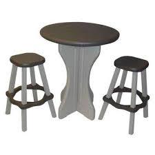 outdoor patio bar stools bistro set portabello  piece patio bistro set