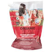 """Эко <b>гель для стирки цветного</b> белья """"Organic People"""", 2 л ..."""