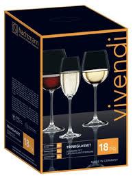 Nachtmann <b>Набор бокалов</b> Vivendi Trinkglasset 88260 <b>18</b> шт ...