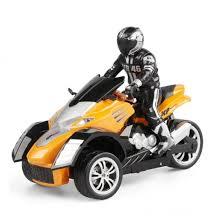 <b>Радиоуправляемый мотоцикл Yuan Di</b> Трицикл YD898-T54 1:10 ...