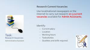administrative practices outcome tasks skills and qualities person specification administrative assistant 8 task