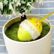 <b>Easter</b> Egg Hanging Ornaments Eggs Pendant Spring Party Home ...
