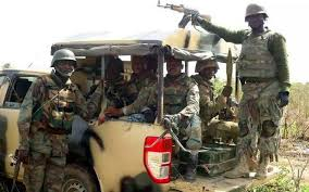 Image result for disgruntled nigerian soldiers