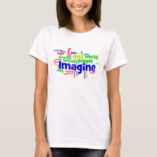 <b>Imagine Peace</b> T-Shirts - T-Shirt Design & Printing | Zazzle