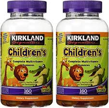 Kirkland Signature Children's <b>Complete Multivitamin Gummies</b>, 320 ...