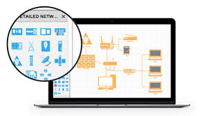 network diagram software  amp  network design tools   lucidchartnetwork design software  network diagram online