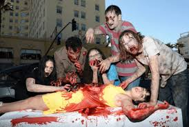 <b>Zombie</b> Hands to Grab 'Living Dead Weekend' Attendees   PETA