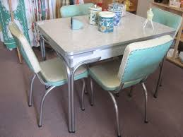 Retro Dining Room Sets Retro Dining Set American Style Furniture Inside Vintage Looking