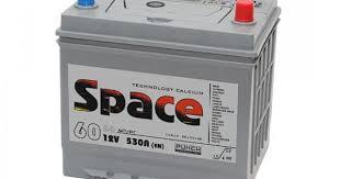 Купить аккумулятор <b>SPACE</b> Ca/Ca <b>ASIA</b> 65D23L 6СТ-60 VLA