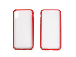 <b>Чехол 360 Strong Magnetic</b> для APPLE iPhone X/XS Glass Red ...