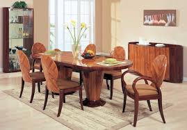 oval dining table for 8