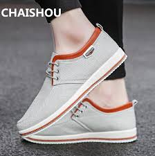 CHAISHOU 2019 New spring <b>Men Shoes Plus</b> Size 39 47 <b>Men Flats</b> ...