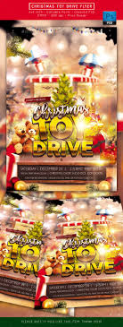 christmas toy drive flyer by rudydesign graphicriver christmas toy drive flyer holidays events