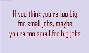 JOB QUOTES image quotes at hippoquotes.com via Relatably.com
