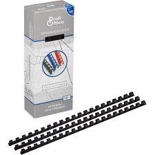 <b>Пружины для переплета</b> пластиковые <b>ProfiOffice</b> 10 мм черные ...