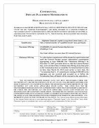 private placement memorandum sample templates word and pdf 35 private placement memorandum sample templates word and pdf private placement memorandum template