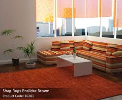 bring a charm to your home with enticing brown rugs charming shag rugs
