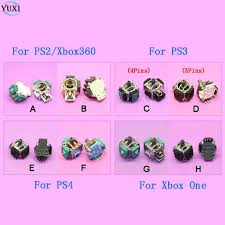 Online Shop <b>YuXi 2pcs</b>/lot 3D Analog Handle <b>Joystick</b> Rocker Stick ...