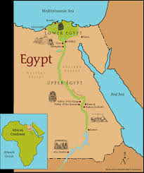 Image result for nile valley civilization map
