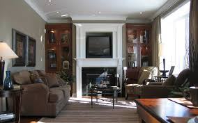 living room decorating ideas around fireplace brown living room furniture ideas