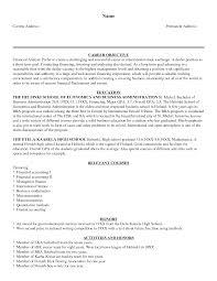 finance manager sample resume director finance resume business finance manager sample resume objective finance resume perfect finance objective resume