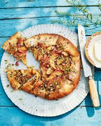 Peach and pistachio galette recipe | delicious. magazine
