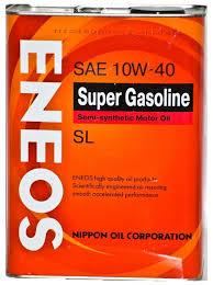 <b>Моторное масло ENEOS Super</b> Gasoline SL 10W-40 4 л — купить ...