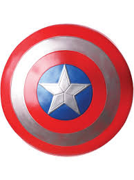 "<b>Captain America</b> 24"" <b>Shield</b> Adult Halloween <b>Costume</b> Accessory ..."