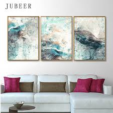 Modern Simplicity of Abstract Canvas Paintings <b>Modular Pictures</b> ...