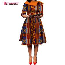 <b>Hitarget 2019 New</b> Ankara Wax Print <b>african</b> dresses for women ...