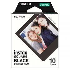 <b>Fujifilm Instax SQ</b> Square Film - <b>Black</b> Frame | Ted's Cameras