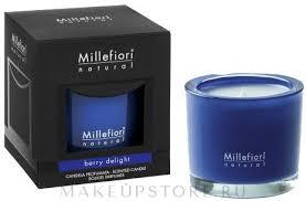 """<b>Ароматическая свеча</b> """"Ягодный восторг"""" - Millefiori Milano <b>Natural</b> ..."""
