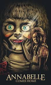 Create <b>artwork</b> inspired by <b>Annabelle</b> Comes Home in 2019   <b>Horror</b> ...