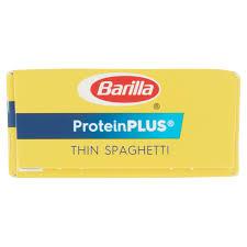 barilla pasta proteinplus thin spaghetti oz com