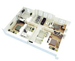 office large size 25 more 3 bedroom 3d floor plans 4 small office space bedroom home office view