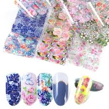 <b>10pcs</b>/<b>pack Nail Stars Applique</b> ins Retro Classic Pop Floral Nail ...