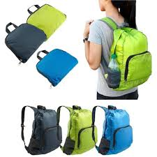 Men''s And <b>Women</b>''s <b>Nylon</b> Foldable <b>Backpack Bag</b> at Rs 115 ...