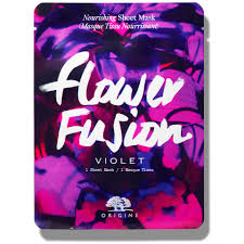 <b>Origins Flower Fusion</b>™ Hydrating Sheet Mask - Violet | Free ...