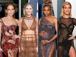 The most daring 'naked' <b>dresses</b> celebrities have worn - Insider