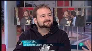 Para Todos La 2 - Entrevista: Julián Díaz - Saber y Ganar , Para ... - 1367840737383