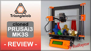 <b>Prusa I3 MK3S CLONE</b> from Trianglelab - REVIEW - YouTube